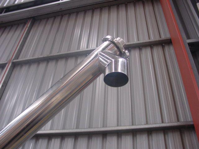 Stainless Steel HOPPER FED TUBE AUGER For Sale NZ