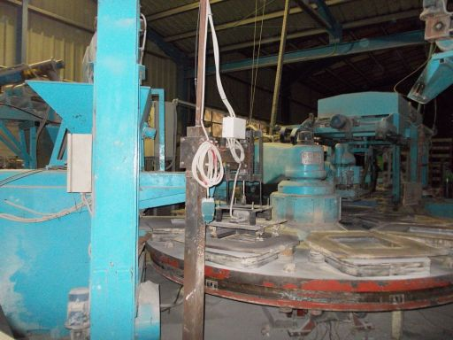 Used Cement Slab Tile Production Plant For Sale