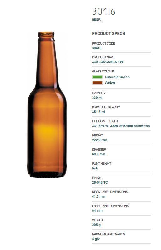 Used Meheen 6 HEAD 330ML Long Neck Beer FILLER Counter